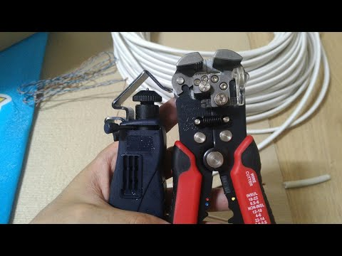 KF-668 & KFT HT-325 개봉기 조금의 사용법 전선 스트리퍼