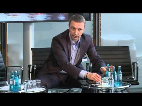 Agfa's Rainer Kirschke and Frankfurter Allgemeine Zeitung's Thomas Schultz-Homberg at DIS 2016