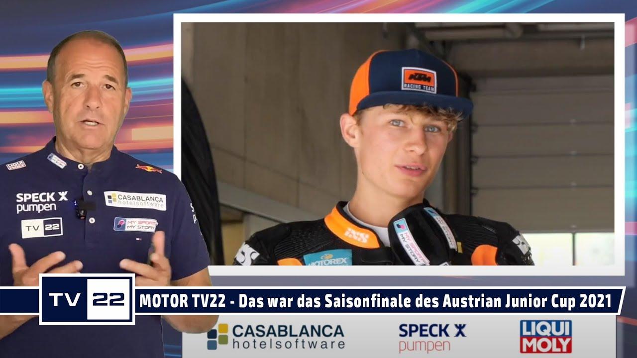 MOTOR TV22: Das war das Saisonfinale am Red Bull Ring des Austrian Junior Cup 2021