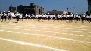 広島県 三ツ城小学校 鼓笛