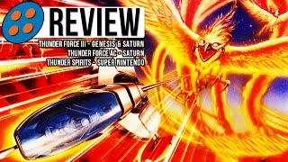 Thunder Force III, AC, & Thunder Spirits Video Review