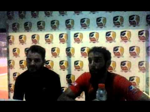Simon McMenemy and Anthony Putrus-Schnell Press Conference