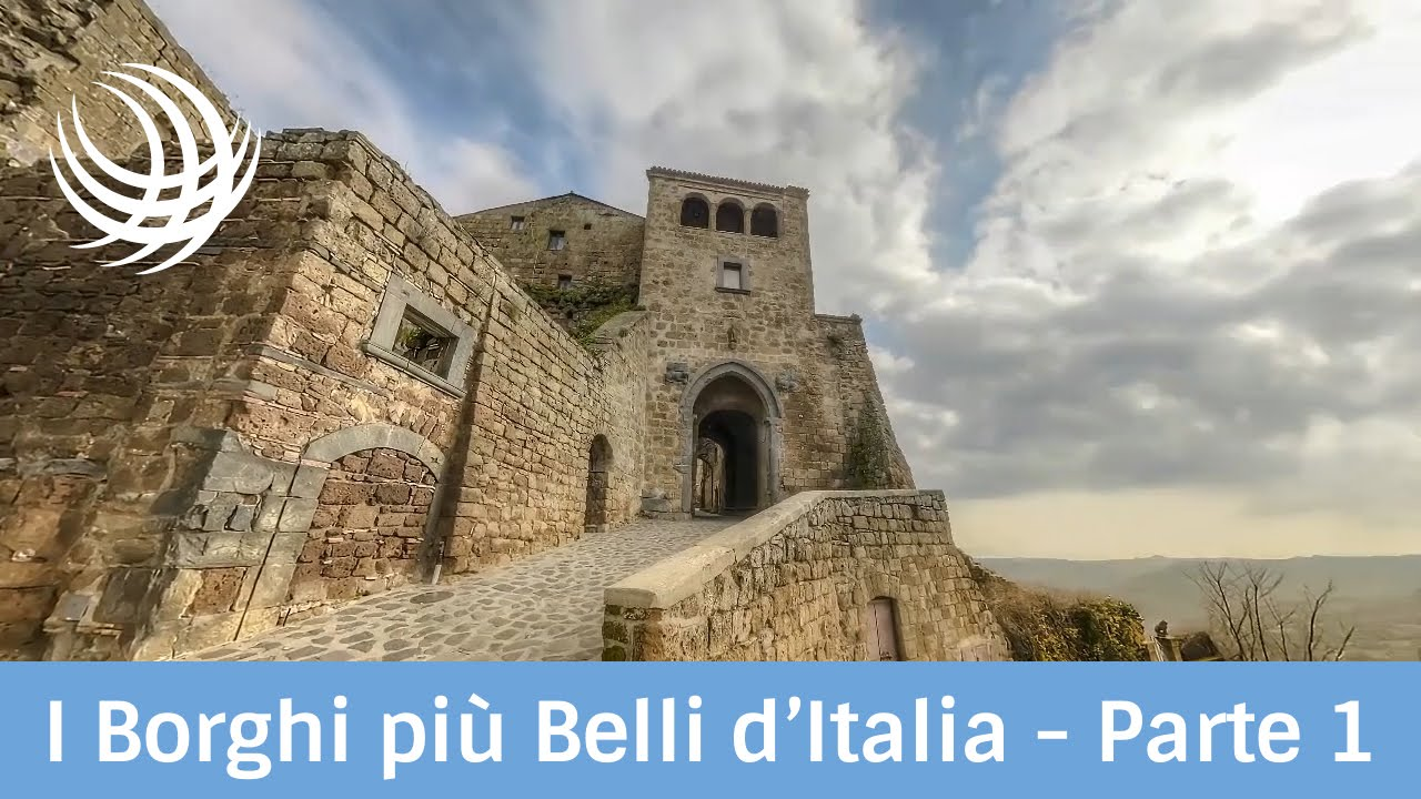 I borghi pi belli d 39 italia parte 1 youtube for I pavimenti piu belli