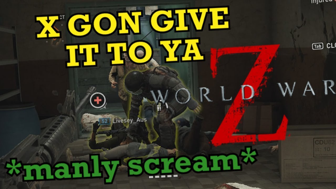 4 Idiots Try to Survive the Apocalypse - World War Z Gameplay