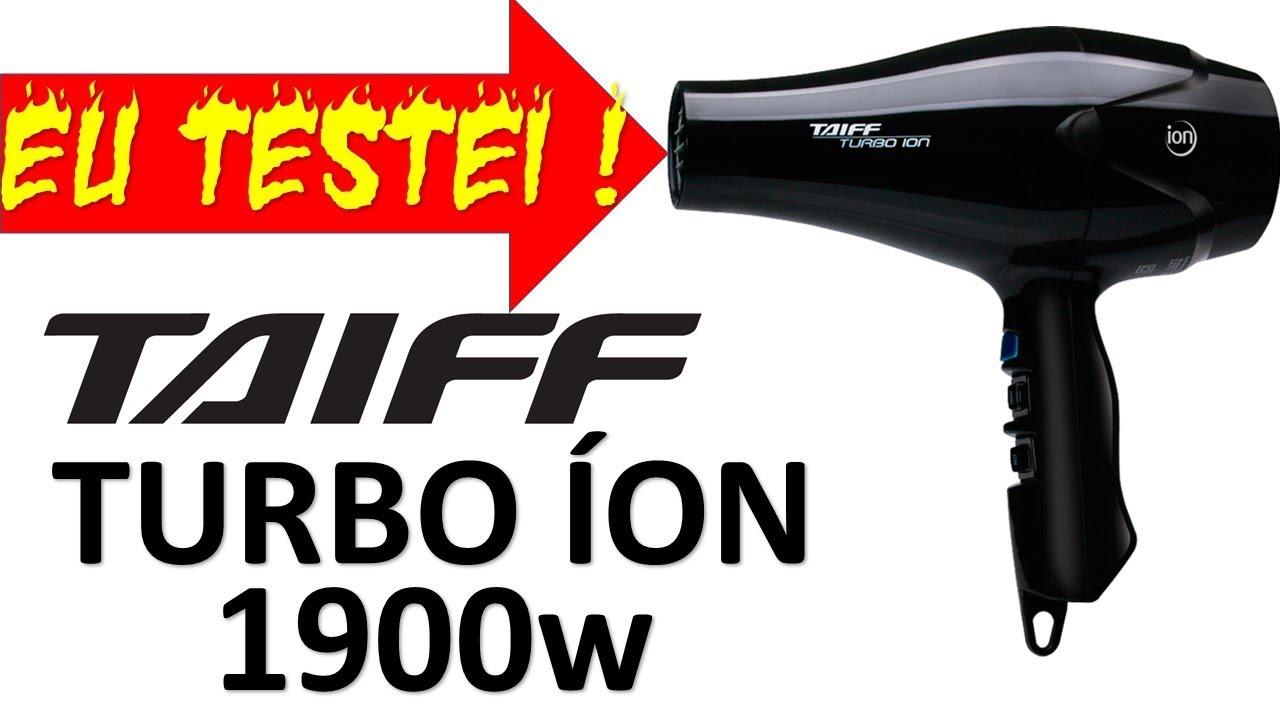 5f5252ce2 Secador Taiff Turbo ìon - YouTube