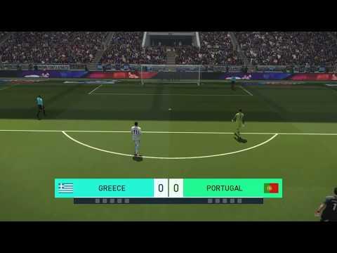 PES 2018 Penalty Shootout: Greece vs Portugal