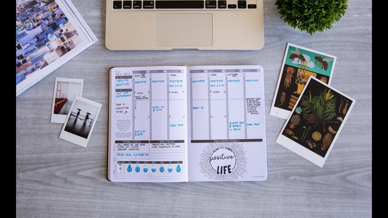 Passion Planner | Your Personal Goal Planner and Daily Organizer