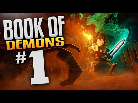 Book of Demons Gameplay - EP 1 - NOSTALGIA - Let's Play Book Of Demons (Return 2 Games)