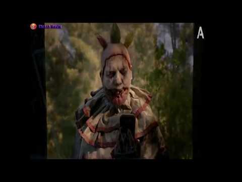 Момент из фильма Американская история ужасов с клоуном