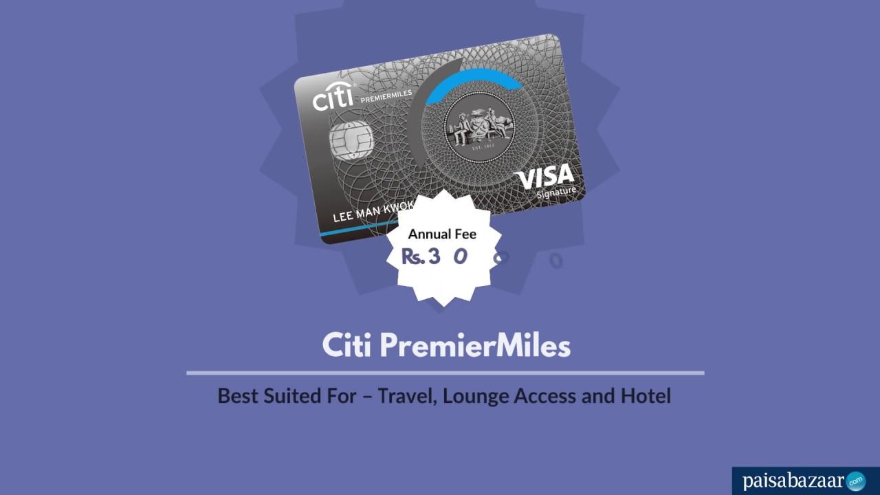 Citi Premiermiles Credit Card Apply Online At Paisabazaar Com 29