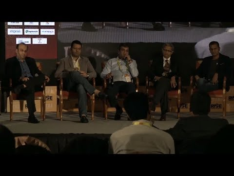 Panel Discussion on The Future of Retail: Emerging Technology and Store Formats at RISE 2017