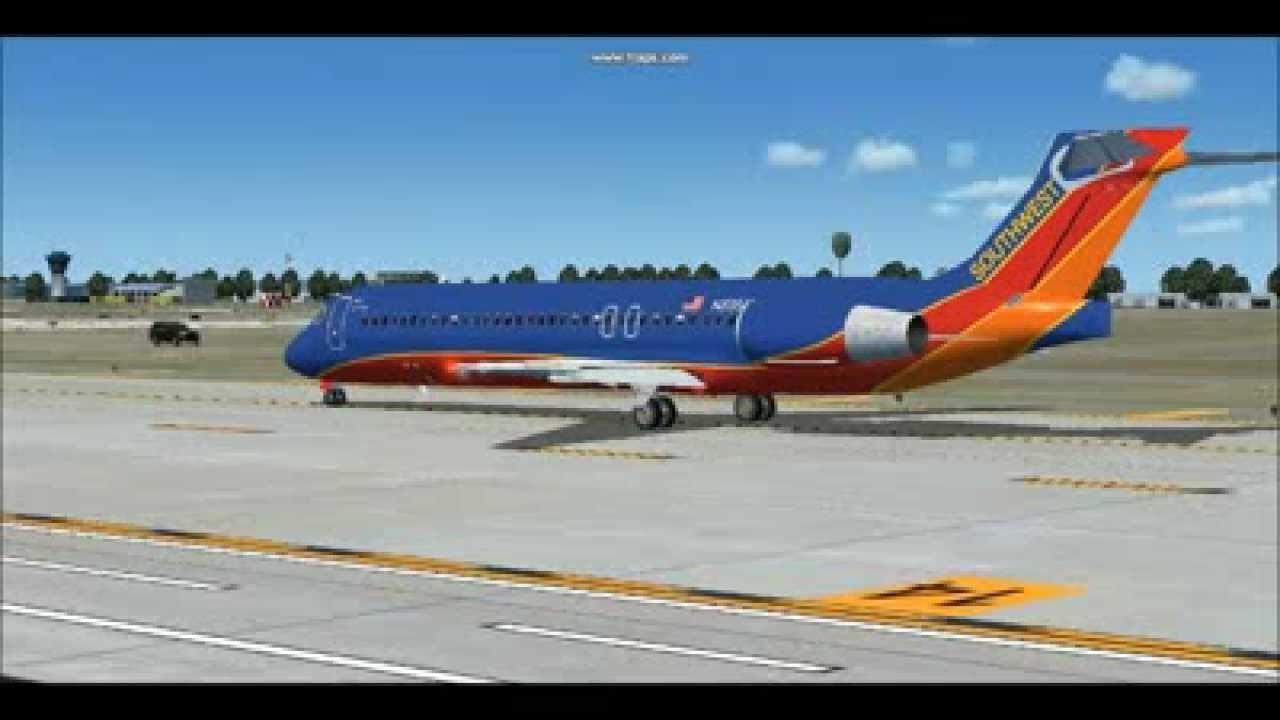 southwest 717 200 ex airtran n895at departing john wayne airport