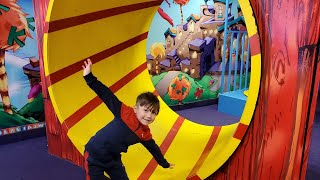 Play date at the Fun House indoor playground for kids