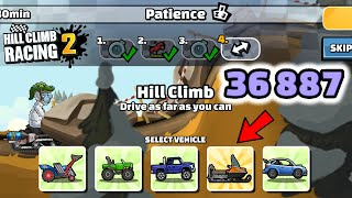 Hill Climb Racing 2 - 36887 points in PATIENCE Team Event GamePlay