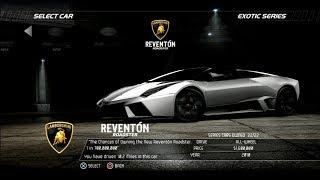 Need For Speed Hot Pursuit: Lamborghini Reventon Roadster (Test Drive)