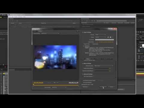 How to export H264 (mp4) with After Effects CC2014 through Media Encoder