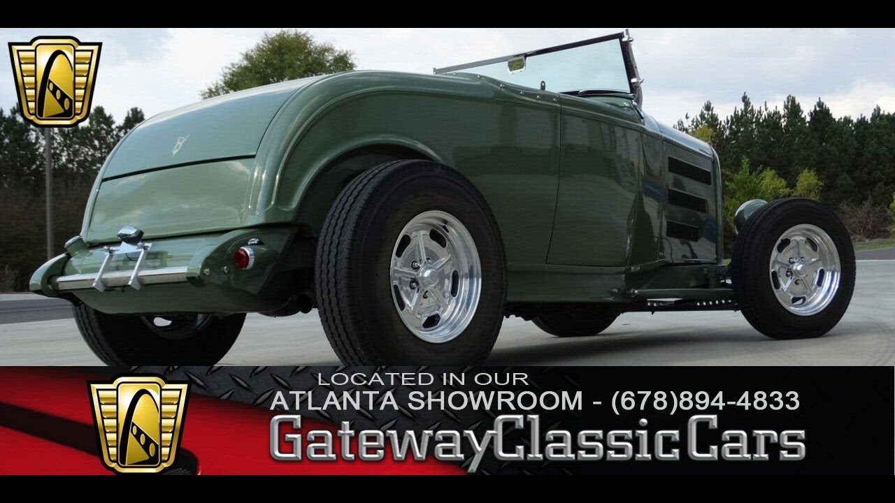 1932 Ford Roadster - Gateway Classic Cars of Atlanta #87 - YouTube