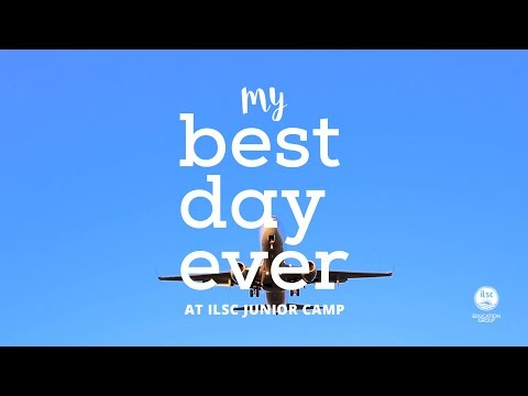 My best day ever: Junior Camp at ILSC