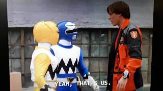 Power Rangers Lightspeed Rescue: Carter and Heather meets Lost Galaxy Rangers