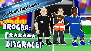 """🤬DROGBA RANT! """"F****** DISGRACE!""""🤬Chelsea vs Barcelona Football Flashback (Champions League 2009)"""