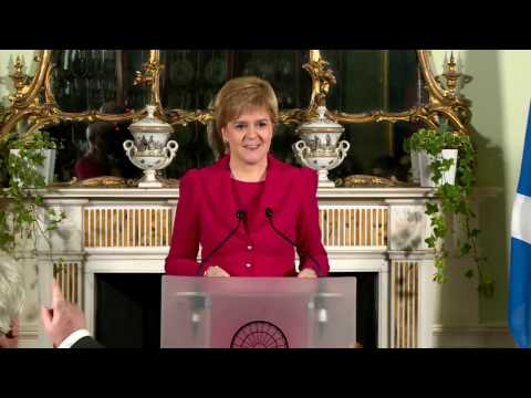First Minister Press Conference 13/03/2017