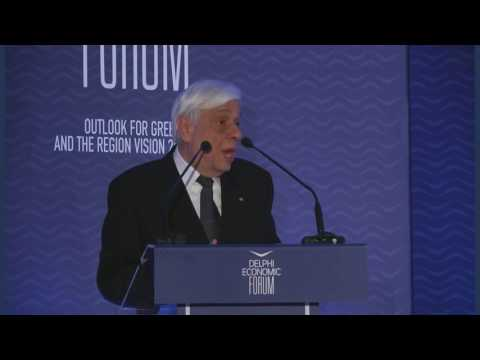 Mr. Prokopios Pavlopoulos Speech | Delphi Economic Forum 2017