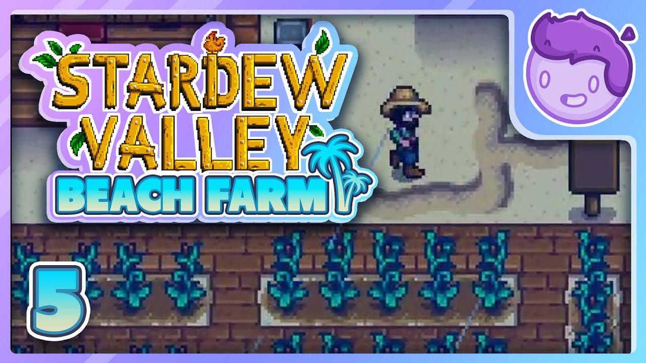 Download Finally Some Rain - Stardew Valley 1.5 Beach Farm Playthrough PART 5