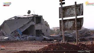 Сирия Syria HD ★ Начало битвы за Аль Баб. Репортаж с места атаки танков ДАИШ