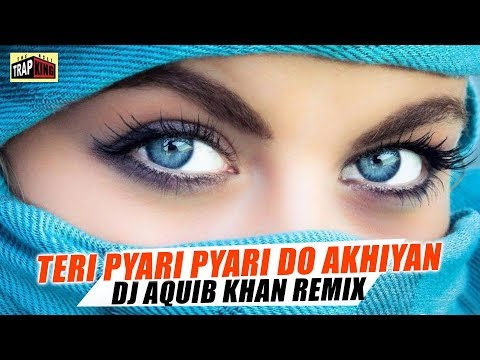 Teri Pyari Pyari Do Akhiyan  | DJ Aquib Khan | Remix | The Asli Trap King