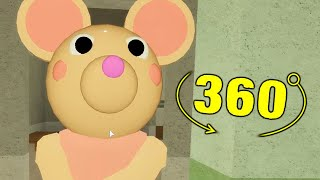ROBLOX PIGGY NON INFECTED MOUSEY JUMPSCARE 360