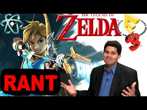 Atomic Rant: The Lonely Zelda and no NX @ E3!!!??