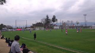 THE KSL CUP2014  1回戦「レイジェンド滋賀FCvs関大FC2008」FK