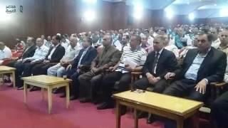مصر العربية   تكريم 150 عامل وعاملة بغزل المحلة