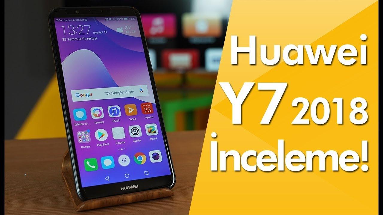 Huawei Y7 2018 inceleme - Uygun fiyatlı büyük ekranlı telefon!