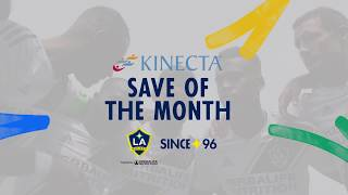 David Bingham's big saves against Portland | Save of the Month - presented by Kinecta