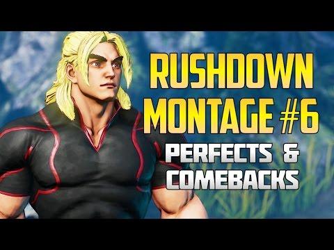 SFV ▰ Ken Rushdown/Stun/Perfect/Comebacks Montage #6 By Xuses【1080p60 CMV】