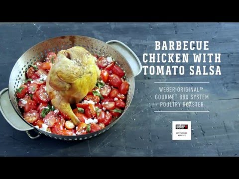 Barbecue Chicken With Tomato Salsa On GBS®