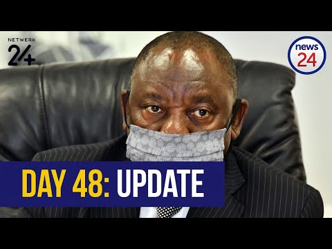 WATCH LIVE | President Cyril Ramaphosa to address the nation on lockdown day 48