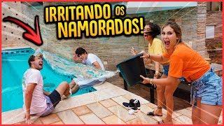 COMO IRRITAR OS NAMORADOS 24H!! - TROLLANDO IRMÃOS [ REZENDE EVIL ]