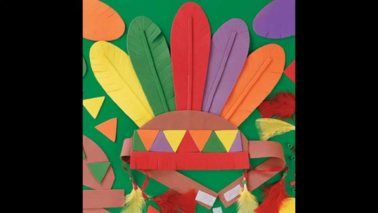 Creative construction paper thanksgiving crafts decorating