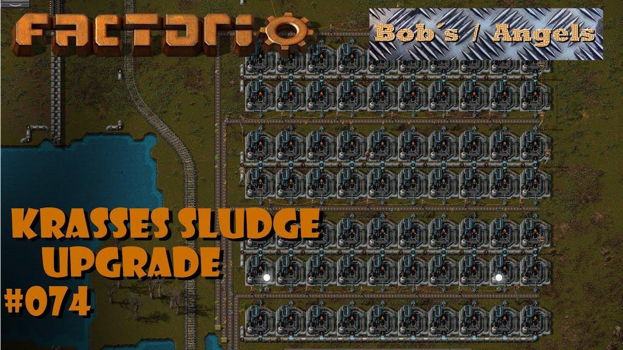 Factorio - S2E074 - Krasses Slurry Upgrade - Krampfgarten