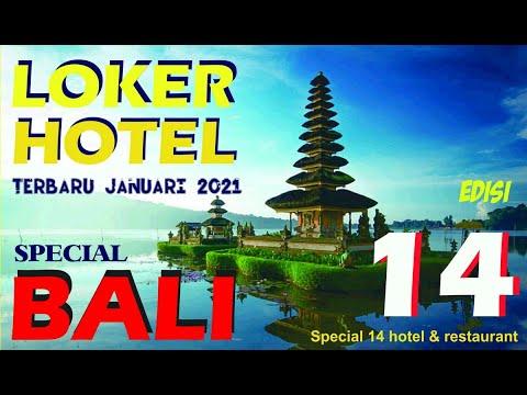 LOKER HOTEL TERBARU Januari 2021 ed 14 Special BALI | 14 Hotel & Resto Kereenn.. BURUAN DEH!!!