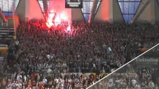Plzeň - Zlín 6. finále pyro v Plzni