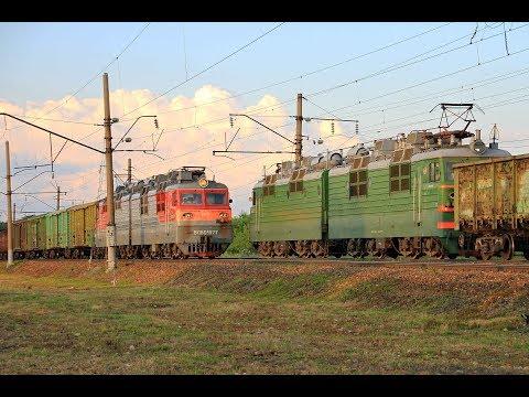 ВЛ80С-577 и ВЛ80С-1812, перегон Шахунья - Тоншаево