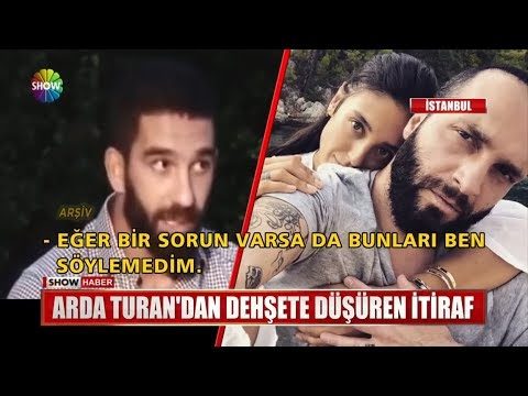 Arda Turan'dan dehşete düşüren itiraf