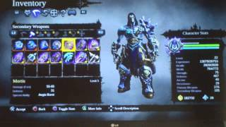 Darksiders 2 Mortis DLC Secondry Weapon Info