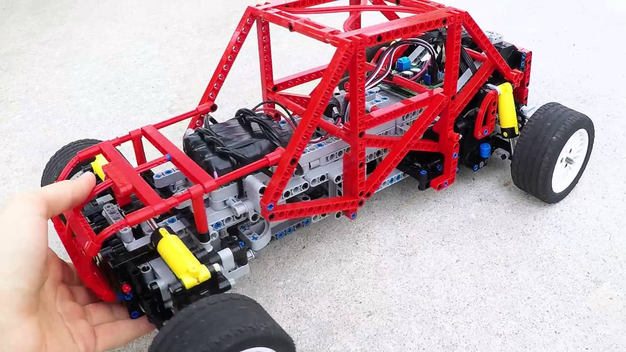 Rally Car Chassis Lego 2016 Youtube
