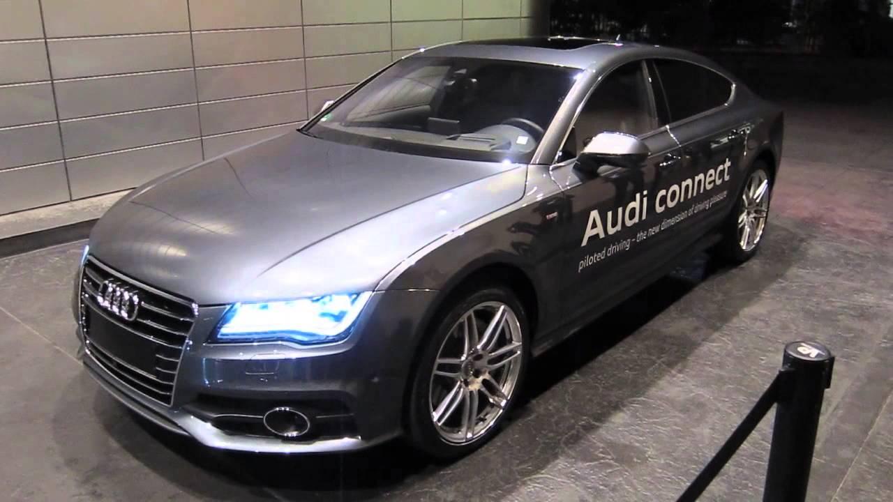 Audi SelfParking Demonstration CES YouTube - Audi car valet