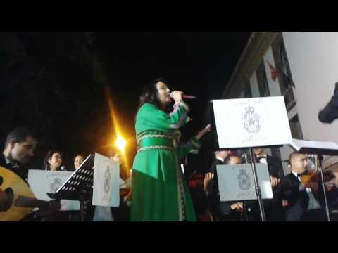 عيد العرش المجيد  2014 salma alaoui ismaili