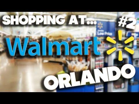 SHOPPING  AT WALMART #2 - ORLANDO FLORIDA